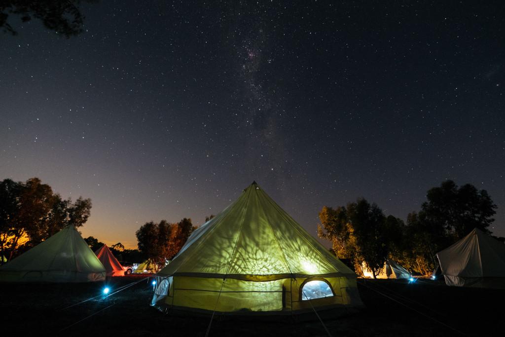 Yurts and universes