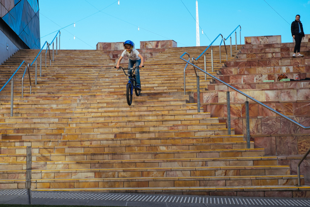 BMX at Fed Square